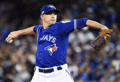 Toronto Blue Jays starting pitcher Aaron Sanchez gets the nod in Game 4 against the Cleveland Indians today. Oct 18, 2016