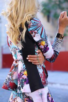 Jacket: Clover Canyon. Skirt: Clover Canyon Nails: Deborah Lippmann 'Amazing Grace' (best white nail polish ever). Jewelry: Cartier, Hermes, Catbird, MMM rings.