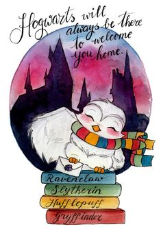 Print – Owl and Letter – Fandom art print – Fandom art – Book lovers – Gifts for Booknerds Print Hogwarts Owl und Letter Fandom Kunstdruck von TJLubrano Harry Potter Fan Art, Harry Potter Kunst, Cute Harry Potter, Harry Potter Drawings, Harry Potter Fandom, Harry Potter Hogwarts, Harry Potter Anime, Desenhos Harry Potter, Harry Potter Wallpaper