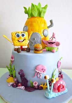 SpongeBob cake birthday