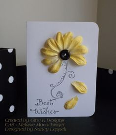 Blk, Yellow using Stampin Up Doodle This