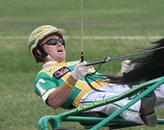 """Tim Tetrick, leading harness racing driver in the sport for the sixth straight year in 2012, """"The Bionic Man"""" won a record four Breeders Crowns on one night"""