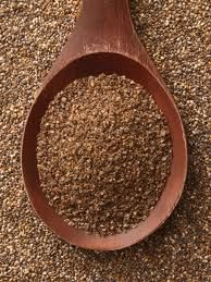 100G OF CHIA CONTAINS: Protein: 20.7g Fat: 32.8g Carbohydrate: 41.8g (of which fibre is 41.2g) Calcium: 714mg Iron: 16.4mg Niacin (B3): 613mg Thiamine (B1): 0.18mg Riboflavin (B2): 0.04mg Source: Nutritional Science Research Institute For more information visit: http://ggagriculture.com