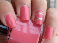 NailArt and Things: Inglot 720 Nail Enamel + Striping tape nail art