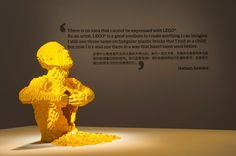 Exhibition at ArtScience Museum in Singapore — Nathan Sawaya — The Art of the Brick