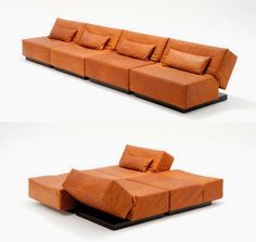 Innovative and Cool Convertible Sofa Designs (10) 5