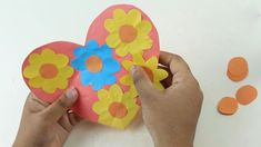 Origami Heart Easy With Various Style Wall Hanging Or