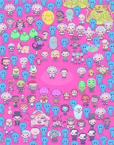 """100% Soft """"Rick & Morty Forever"""" Framed Print"""
