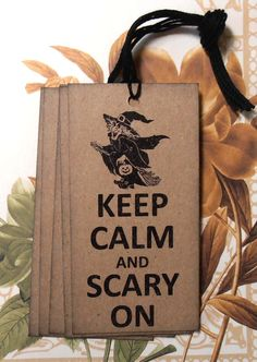 Halloween Tags Handmade Witch Vintage Style Party by bljgraves, $4.00
