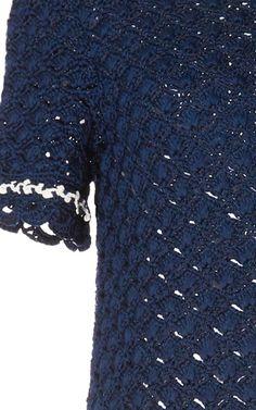 Violette Silk Knit Dress by SPENCER VLADIMIR Now Available on Moda Operandi