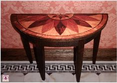 Dolls House 12th scale small Hall / Console Table