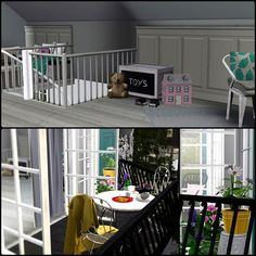 Simberry / Romance Ave. / Sims 3 / Downloads / Toys / Balcony