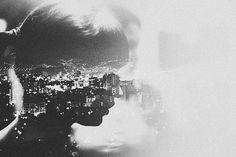 Beautiful Double Exposures by Andre De Freitas