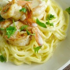 The Life & Loves of Grumpy's Honeybunch: Cajun Shrimp with Linguini and Creamy Parmesan Sauce