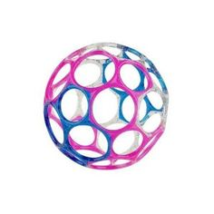 "Rhino Toys 4"" Infant Oball is great for little baby hands. It's light enough for a 2 month old to pick up and shake."