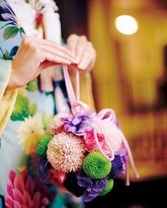 ボールブーケで和装姿も艶やかさUP(o∀o)ノ  #ホテルモントレ札幌  #モントレ  #ウェディング  #結婚式  #ボールブーケ  #ブーケ  #和装  #かわいい  #前撮り  #艶やか