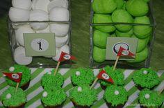 Verde y blanco??? Party Golf!!!