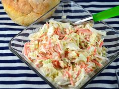This is the recipe I turn to most when I make cole slaw.  The recipe comes from stephskitchen.com.