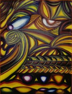 "Pintura llamada ""Hojarasca"""