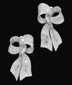 Bulgari Diamond Bow Earrings i couldnt pass these by without adding them to your parcel.