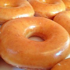 Classic Glazed Donut @ Krispy Kreme Doughnuts