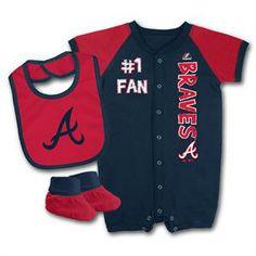 40b430ec7b5da 32 Best Atlanta Braves Baby images