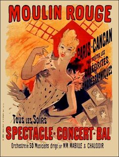 Moulin Rouge Spectacle - Concert - Bal