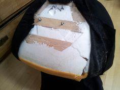 Styrofoam furniture- ikea Skruvsta chair, no wonder it have fallen apart