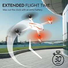 MJX Bugs 2 Drone with Camera and GPS - HD 2MP 1080P Camera Drone Quadcopter - Brushless GPS Drones for Adults and Beginners - Specter B2C: Toys & Games