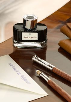 With its glossy screw top, embellished with the Graf von Faber-Castell coat of…