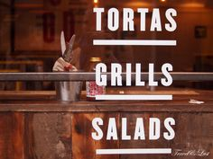Tortas, grills, salads and more at DF/Mexico Diner.