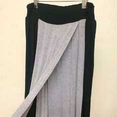 I just discovered this while shopping on Poshmark: Black and grey maxi skirt. Check it out! Price: $15 Size: S