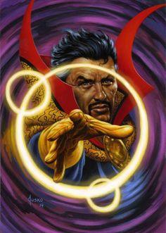 Doctor Strange - Joe Jusko