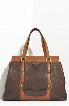 lovin' this calfskin leather satchel by Marc Jacobs