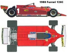 Sport Cars, Race Cars, Blueprint Drawing, Gilles Villeneuve, Ferrari F1, Formula One, Maserati, Retro, Racing