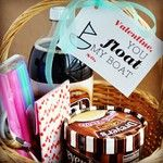 """Valentine's Day *Gift* - """"You Float My Boat"""" Basket"""