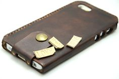 handmade iPhone 6s 6s Plus Leather Case by jinapplehandmade