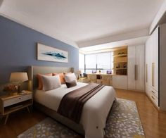 Bedroom Designs For Couples, Small Bedroom Designs, Room Design Bedroom, Modern Bedroom Design, 3d Home Design, Small House Interior Design, Design Ideas, Space Saving Bedroom, Aesthetic Bedroom