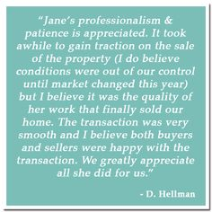 Jane Kelly Testimonial. #realtortestimonials, #lakeoftheozarksrealtor