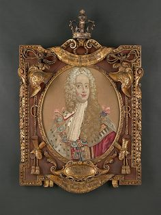 Weaver John van Beaver (active 1727–50). Portrait of George II (reigned 1727–60), 1732–37. The Metropolitan Museum of Art, New York. Gift of Irwin Untermyer, 1964 (64.101.1331a, b) #tapestrytuesday
