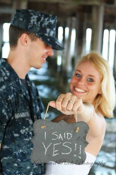 Military Couples Engagement Photography