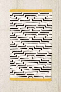 4040 Locust Patan Line Woven Rug - Urban Outfitters