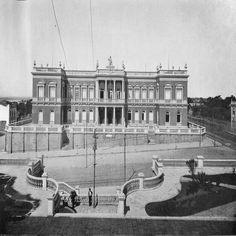 Palácio da Justiça. Manaus. Álbum do Amazonas 1901-1902.