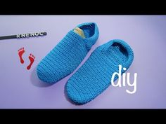Pantufla Básica Ganchillo Crochet Basic Slipper DIY
