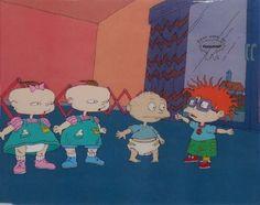 nice Rugrats Original Animation Cel Group. Nickleodeon