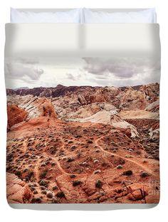My little Secret by Evgeniya Lystsova   Landscape of desert at Valley of Fire State Park, southern Nevada, USA #EvgeniyaLystsovaFineArtPhotography #Landscape #Desert #Travel #Photography #BedRoom #DuvetCover #ArtForHome #InteriorDesign #LifeStyle #Fashion