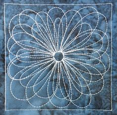 free motion quilting | Leah Day xxx