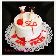 Bolo Gatinhas  Cats cake Pets cakes