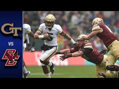 Georgia Tech vs. Boston College Football Highlights (2016) - http://www.truesportsfan.com/georgia-tech-vs-boston-college-football-highlights-2016/