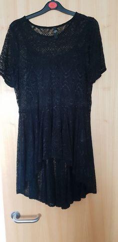 4d9618571e6 Hi-lo Lace Top Size 18 By Evans Black Worn Twice Ex Cond  fashion